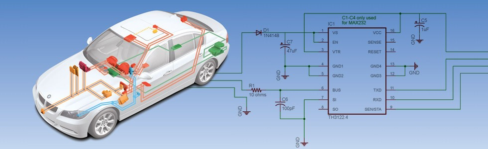 Arduino & BMW I/K Bus Interface – Schematic Descriptions » Curious